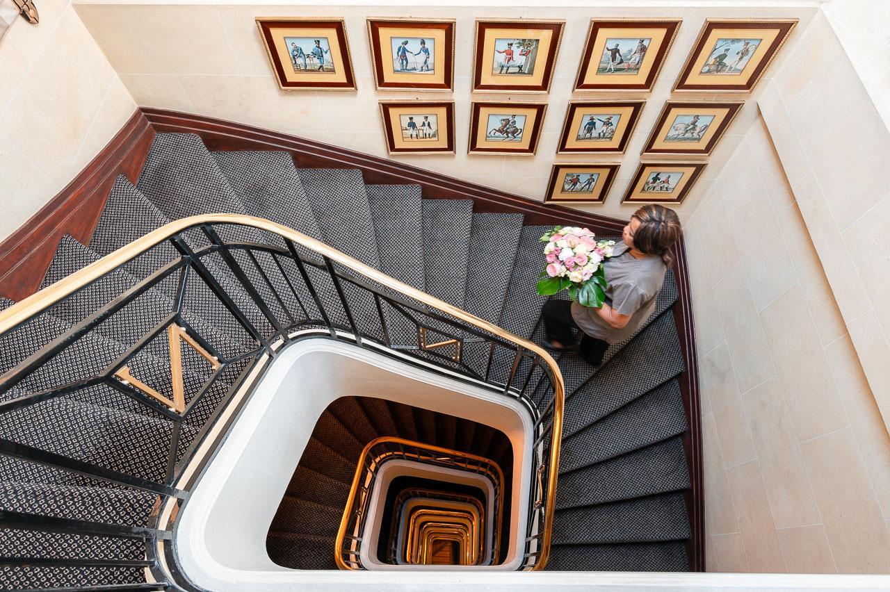 Napoléon Hotel Stairs